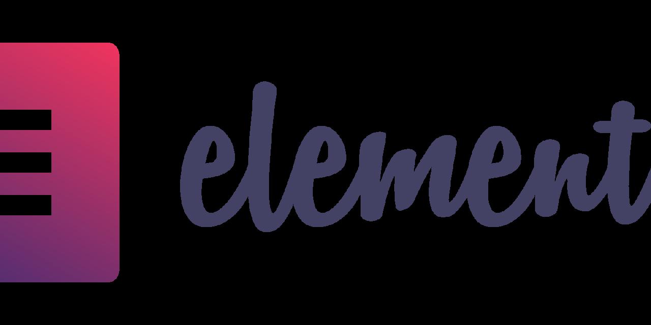 Elementor Logo Gradient